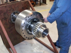 Gearbox clutch-overhaul